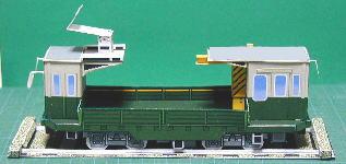 日本的工程運輸火車(紙模型)